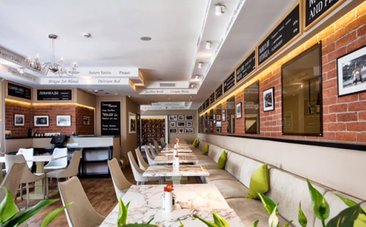 Скидка 30% в ресторане Brasserie Lambic на Неверовского)